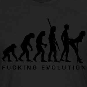 fucking_evolution Tee shirts - T-shirt manches longues Premium Homme