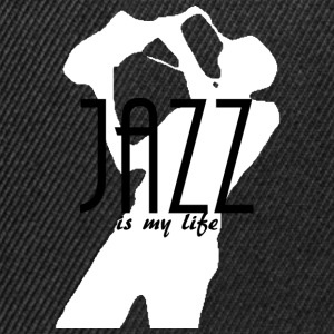 jazz is my life Tröjor - Snapbackkeps