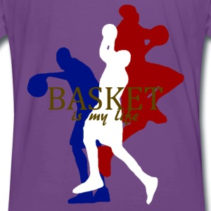 basket is my life Sweaters - Mannen Premium T-shirt