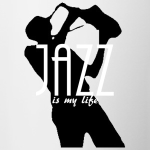 jazz is my life Tröjor - Mugg