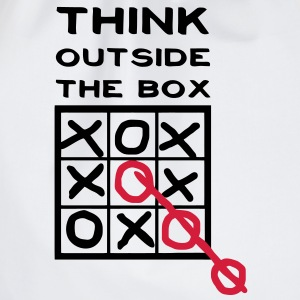 Think outside the box, creative thinking, thoughts are free T-Shirts - Drawstring Bag