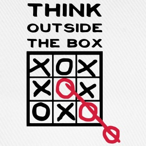 Think outside the box, creative thinking, thoughts are free T-Shirts - Baseball Cap