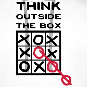 Think outside the box, creative thinking, thoughts are free T-Shirts - Men's Premium Hoodie
