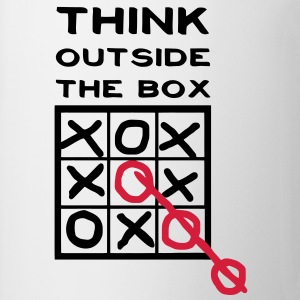 Think outside the Box  Tee shirts - Tasse