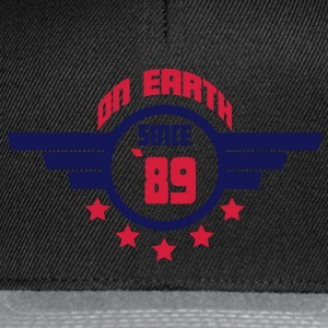 89_on_earth Camisetas - Gorra Snapback