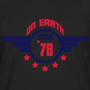 78_on_earth Camisetas - Camiseta de manga larga premium hombre