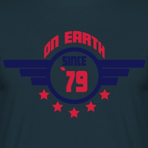 79_on_earth Forklæder - Herre-T-shirt