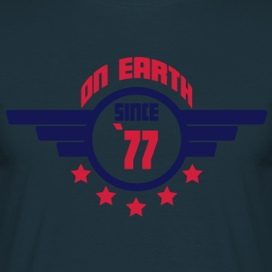 77_on_earth Delantales - Camiseta hombre