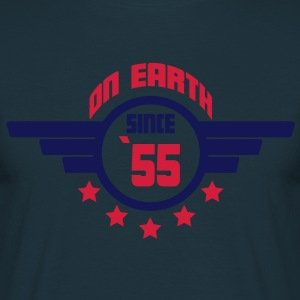 55_on_earth Kookschorten - Mannen T-shirt