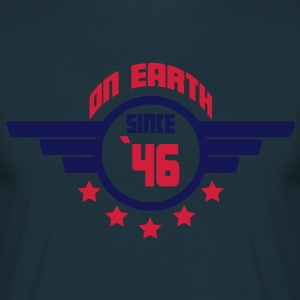 46_on_earth Tabliers - T-shirt Homme