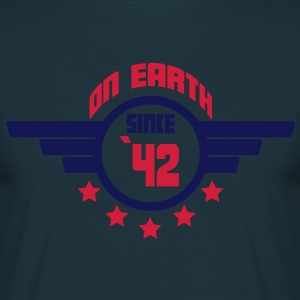 42_on_earth Tabliers - T-shirt Homme
