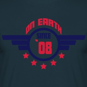 08_on_earth Forklæder - Herre-T-shirt