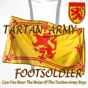 Scottish Tartan Army Footsoldier kids - Men's Premium Hoodie
