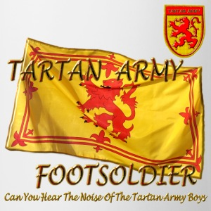 Scottish Tartan Army Footsoldier kids - Mug
