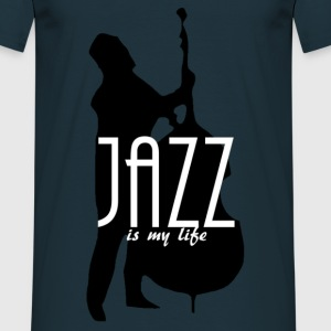 jazz is my life Sweaters - Mannen T-shirt