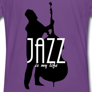 jazz is my life Sweaters - Mannen Premium T-shirt