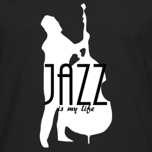 jazz is my life Bags  - Men's Premium Longsleeve Shirt