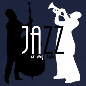 jazz is my life Tröjor - Basebollkeps