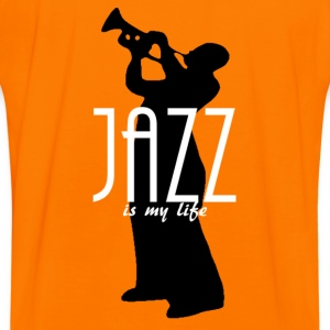 jazz is my life Sweaters - Mannen contrastshirt
