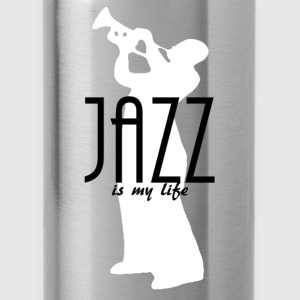 jazz is my life Hoodies & Sweatshirts - Water Bottle