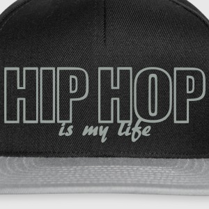 hip hop is my life Väskor - Snapbackkeps