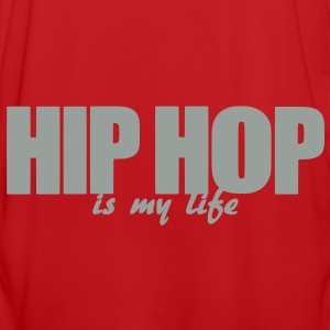 hip hop is my life Tassen - Mannen voetbal shirt