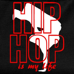 hip hop is my life T-skjorter - Ryggsekk for barn