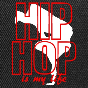hip hop is my life Sweatshirts - Snapback Cap
