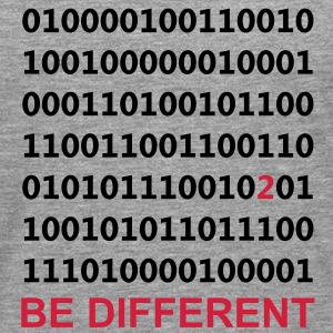 Be Different - Binär - Digital Pullover - Männer Premium Langarmshirt