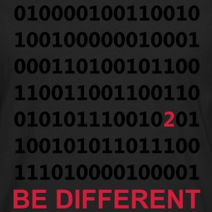 Be Different - Binario - Digital Pullover - Maglietta Premium a manica lunga da uomo