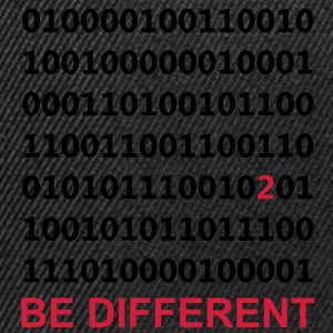 Be Different - Binary - Digitaal Sweaters - Snapback cap