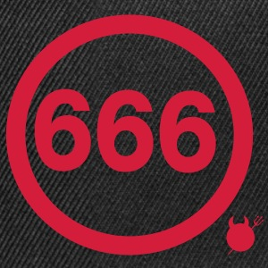 666 Tee shirts - Casquette snapback