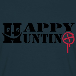 Happy Hunting - 2colors - Mannen T-shirt