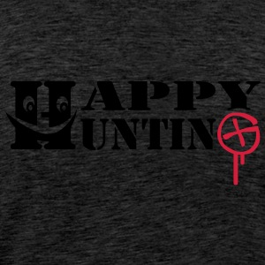 Happy Hunting - 2colors -back - Camiseta premium hombre