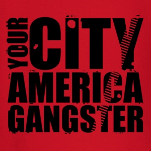 your city america gangster T-Shirts - Baby Long Sleeve T-Shirt
