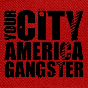 your city america gangster T-shirts - Snapback cap
