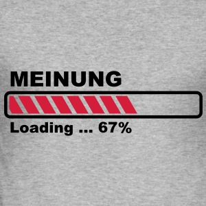Opinion loading - progress bar! Hoodies & Sweatshirts - Men's Slim Fit T-Shirt