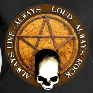 rock_and_roll_and_skull_and_pentagram_e Tee shirts - Sweat-shirt Homme Stanley & Stella