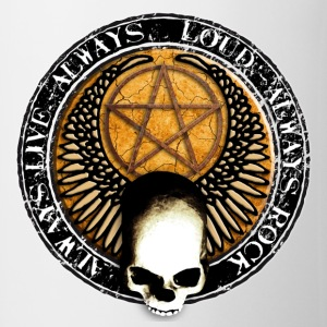 rock_and_roll_and_skull_and_pentagram_s Przypinki - Kubek