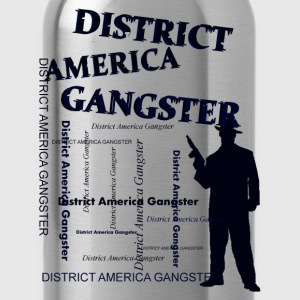 district america gangster Taschen - Trinkflasche
