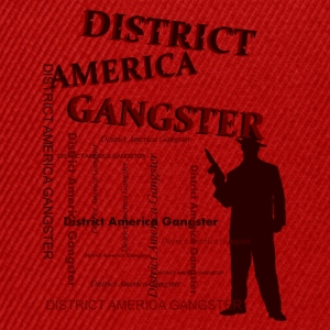 district america gangster Väskor - Snapbackkeps