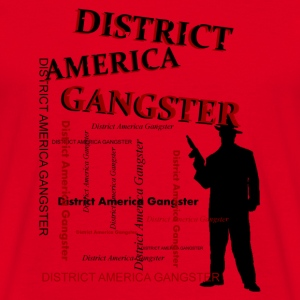 district america gangster Bags  - Men's T-Shirt