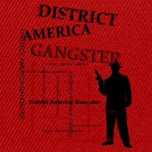 district america gangster Tasker - Snapback Cap