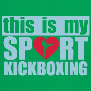 this is my sport kickboxing Sacs - T-shirt contraste Homme
