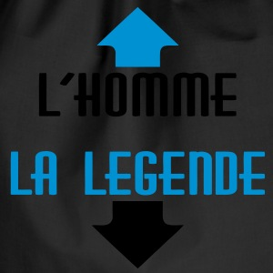 l'homme legende v2 (2c) Sweat-shirts - Sac de sport léger