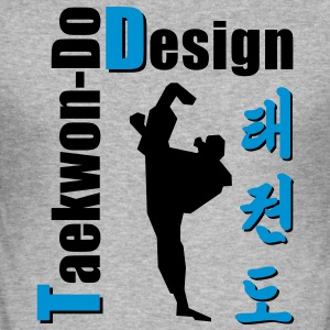 Taekwon-Do Design - Männer Slim Fit T-Shirt