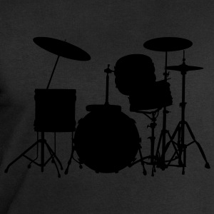 music drums drum set T-shirt - Felpa da uomo di Stanley & Stella