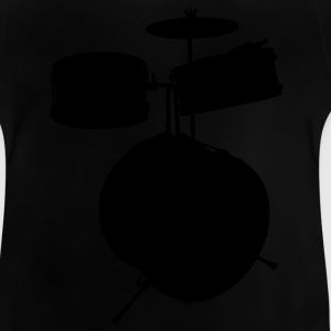 music drums drum set Barn-T-shirts - Baby-T-shirt