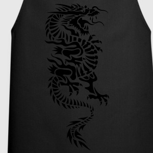 chinese dragon tribal Kinder T-Shirts - Kochschürze