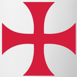 cross_of_the_templars Tee shirts - Tasse